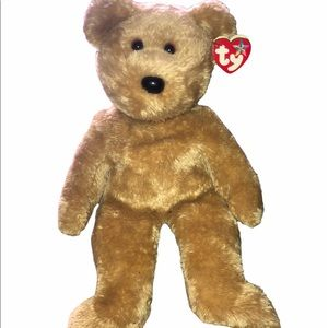 🎵 TY Original Beanie Buddy Curly bear